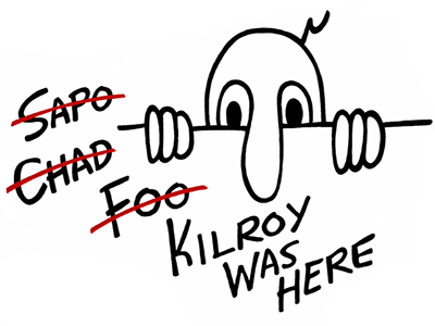 Post-Graphics-Kilroy just landed