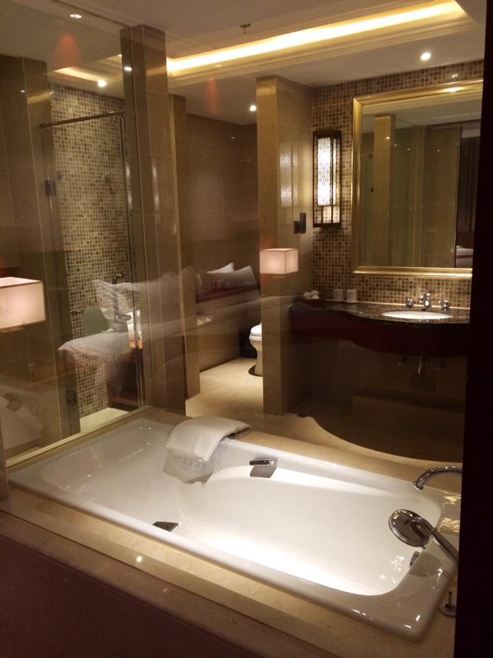 Lao Bathrooms: Landmark Mekong Riverside Hotel bathroom