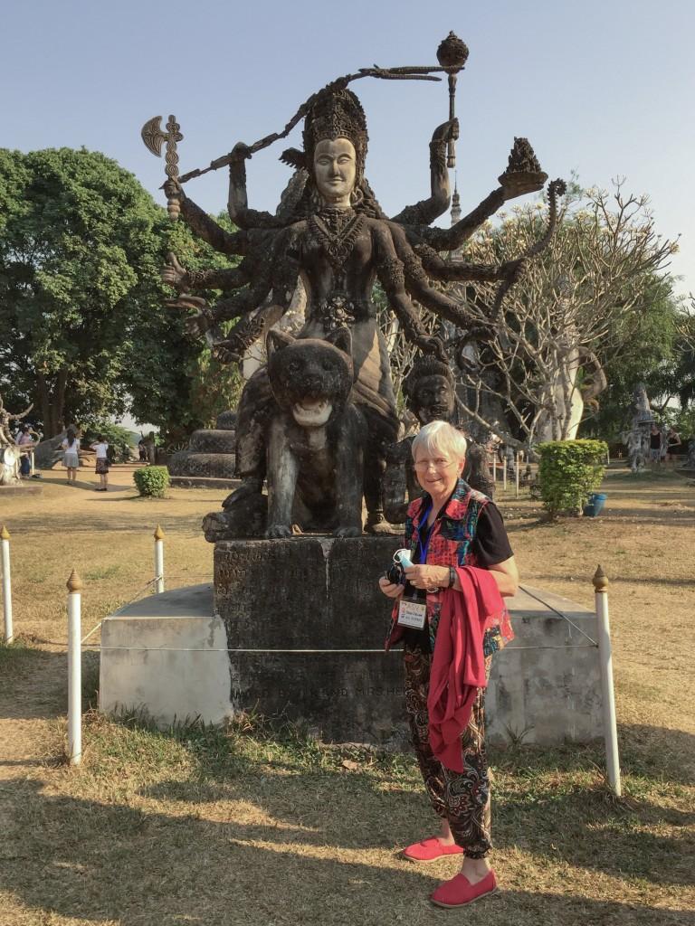 Bhudda Park statues