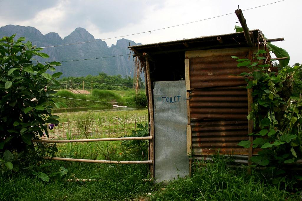 Lao bathrooms