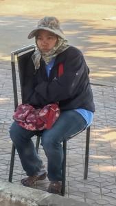 Laos-Cold lady